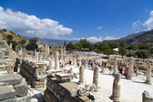 Ancient City of Ephesus, Izmir, Turkey — Stockfoto