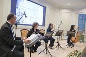 Classical music concerts at Ciragan Palace Kempinski Hotel, Istanbul — Stock Photo