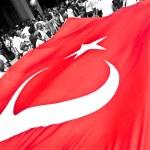 Giant Turkish Flag — Stock Photo #6117162