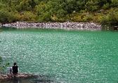 Baduk lakes of Teberda and Dombai — Stock Photo