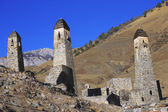 Towers of Ingushetia. Ancient architecture and ruins — Stock Photo