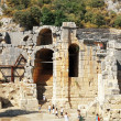 Ancient dead town in Myra Demre Turkey — Stock Photo