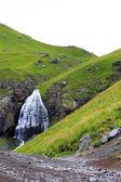 Waterfall Girlish Braids between the mountains of Northern Cauca — Stock Photo