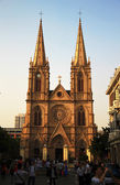Sacred Heart catholic cathedral in the Guanzhou China — Stock Photo