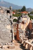 Antigua ciudad muerta en turquía myra demre — Foto de Stock