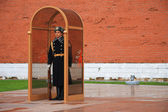 The tomb of the Unknown Soldier at the wall of Kremlin — Stock Photo
