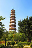 Flower Pagoda of temple of Six Banyan Trees — Stock Photo