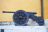 Ancient artillery Cannons In The Moscow Kremlin, Russia — Stock Photo