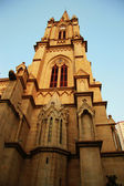 Sacred Heart catholic cathedral in the Guanzhou China — Стоковое фото
