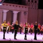 Fires of Anatolia. Performance in the amphitheater of Anatolia. — Stock Photo #50847957