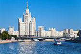 Moscow cityscape in summer day — Stock Photo