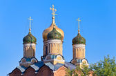 Church of the Theotokos of the Sign, Moscow — Stock Photo