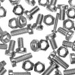 Many builders hardware — Stock Photo