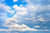 Akşam kümülüs bulutları — Stok fotoğraf