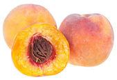 Juicy peaches — Stock Photo