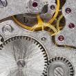 Steel machinery of old mechanical watch — Stock Photo #14026558