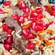 Background from asian pilau — Stock Photo