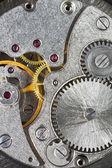 Gears of old mechanic clockwork — Stock Photo