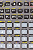 Buttons of scientific calculator with mathematical function — Stock Photo