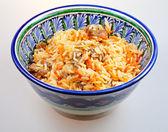 Pilaw miski ceramiczne — Zdjęcie stockowe