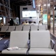 Waiting room in airport — Stock Photo