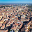 Royalty-Free Stock Photo: View from Asinelli Tower on Bologna city