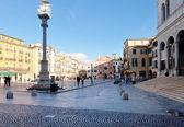 Piazza dei Signori and Church of San Clemente in Padua — Stock Photo