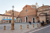 Padua Cathedral with the Baptistery on the right — Stock Photo