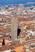 View from Asinelli Tower, Bologna — Stock Photo