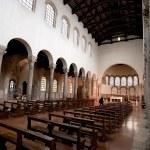 ������, ������: Interior of basilica San Giovanni Evangelista in Ravenna