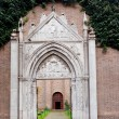 Stock Photo: Entrance in basilicSGiovanni Evangelistin Ravenn