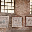 ������, ������: Fragments of Byzantine mosaics in Ravenna church