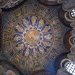 Ceiling Mosaic of the neoniano Baptistery in Ravenna — Stock Photo #16831811