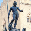 Fountain of Neptune on Piazza del Nettuno, Bologna — Stock Photo