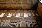 мозаика дворец теодориха в сант-аполлинаре-нуово — Стоковое фото