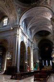 Interieur van de kathedraal in ferrara, italië — Stockfoto