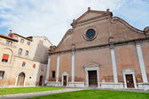 Basilica di San Francesco in Ferrara — Stock Photo