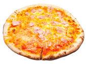 Italian pizza with prosciutto cotto — Stock Photo