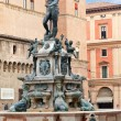 Fountain of Neptune on Piazza del Nettuno — Stock Photo