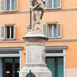 Stock Photo: Sculpture of Luigi Galvani, Bologna, Italy