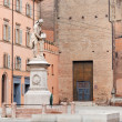 Piazza Galvani in Bologna, italy — Stock Photo