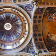 Постер, плакат: Painted ceiling of of Basilica of San Domenico in Bologna Italy