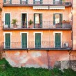 House on Brenta River in Padua Italy - Stock Photo