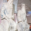 Prophet Nathan and King David in Museum — Stock Photo