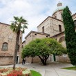 Archiepiscopal museum and Baptistery of Neon in Ravenna — Stock Photo