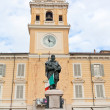 Giuseppe Garibaldi Monument in Parma, Italy — Stock Photo #17329733