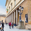 Stock Photo: Colonnade Teatro of Regio di Parm- operhouse in Parma, Italy