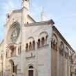 Side view of Modena Cathedral, Italy — Stock Photo #17329797