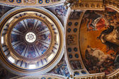 Painted ceiling of of Basilica of San Domenico in Bologna, Italy — Stock Photo