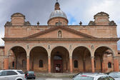 Frauenkirche mír nebo baraccano v bologni — Stock fotografie